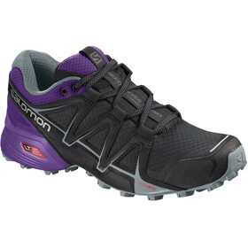 Salomon Speedcross Vario 2 Shoes Women Black/Acai/Lead